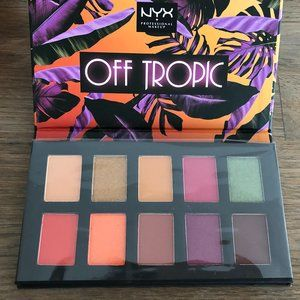 NYX Makeup Off Tropic Eyeshadow Palette